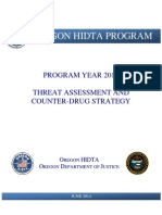 2015 Oregon HIDTA Threat Assessment and Counter-drug Strategy