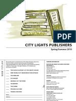 City Lights Publishers Spring/Summer 2010 Catalog