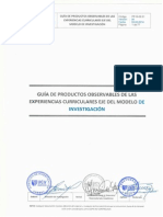 Cdh- Producto Observable
