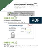 Joomla! v 1.5 Register to Read More