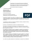 Clasificación de Los Costos Generales en La Concepción Del Proyecto de Edificación