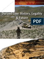 Durand Line History Legality and Future