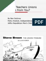 JRMC Union Presentation Nov09