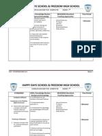 Computer Curriculum Map 7th 2014