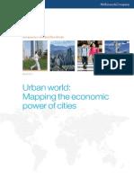 MGI Urban World Mapping Economic Power of Cities