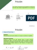 ESTATICA U6 FRICCION