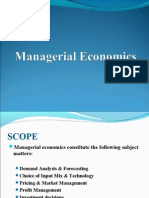 Managerial Economics Introduction