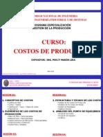 Curso Costos Produccion - 4ta Sesion