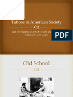 Tattoos in American Society