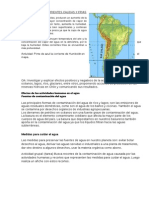 Efectos de La Corrientes Calidas y Frias y Tarea