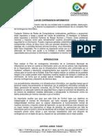 Plan Contingencia Informatico