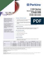 Perkins 1103A-33G ElectropaK (pn 1780-02-05)