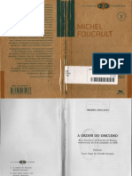FOUCAULT, Michel. a Ordem Do Discurso