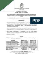 Acuerdo No. 019 (Noviembre 20-13) - Por El Cual Se Establece El Calendario Academico Año 2014