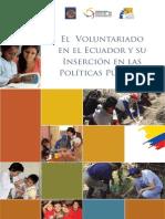 El Voluntariado en El Ecuador y Su Inercion en Las Politicas Publicas