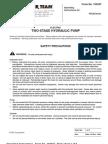 Power Team PQ120 Manual