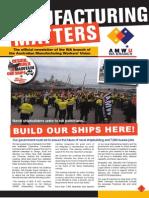 Manufacturing Matters - June/July 2014 - AMWU WA