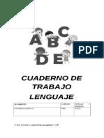 CUADERNO de TRABAJO Lenguaje Cuarto Básico B