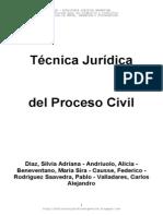 Técnica Jurídica Del Proceso Civil - Varios Autores