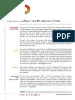 Academy of Polymathic Study Information