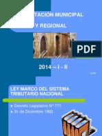 Tributacion Municipal y Regional Presentacion Powerpoint