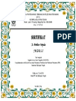 SERTIFIKAT BP4