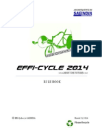 Efficycle 2014 Rulebook
