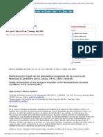 Revista Geológica de Chile - Brittle Deformation of the Neogene Deposits of the Navidad Basin