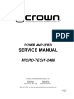 Crown Micro-tech Mt 2400 Sm No-sch