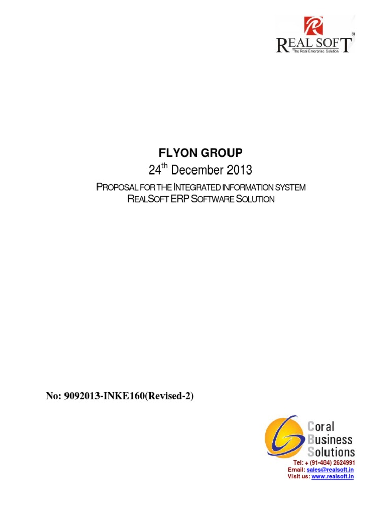 Sample commercial proposal for erp implementation project sample commercial proposal for erp implementation project management enterprise resource planning saigontimesfo