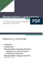 Hipogonadismo y Ginecomastia