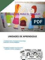 Formación Para El Trabajo 2011