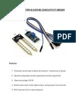 Soil Hygrometer Moisture Conductivity Sensor