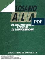 Glosario ALA de Bibliotecología y Ciencias de La Información a-B