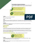 Joomla! v 1 5 Template Installation Troubleshooting Manual