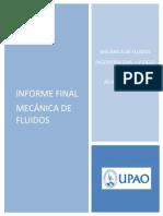 Revestimiento en Canales - Informe Final