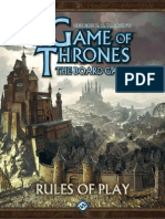 A game of Thrones Game  Rulebook