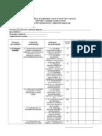 0 Fisa de Autoevaluare Evaluare Conform Ordinului 61432012