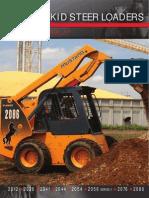 Manual de Servicio Mustang 2066, 2076, 2086   Motor Oil   Elevator