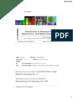 Introduction to Nanotechnology,Nanoscience