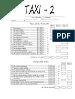 Staxi - 2  Cuestionario