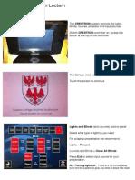 Shulman Presentation Setup