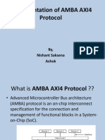 Implementation of AMBA AXI4 Protocol