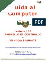 Guida al Computer - Lezione 130 - Pannello di Controllo - Windows Update