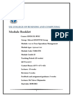 UKCBC TOM Course Module Booklet