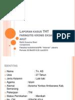 faringitis kronis eksaserbasi akut