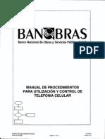 74.- Manual de Procedimientos Para Utilización y Control de Telefonía Celular