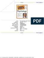 The Complete Idiot's Guide to Psychology Johnston, Joni E.
