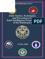Joint Intelligence Preparation of the Battlespace