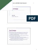 Duct Design 2007